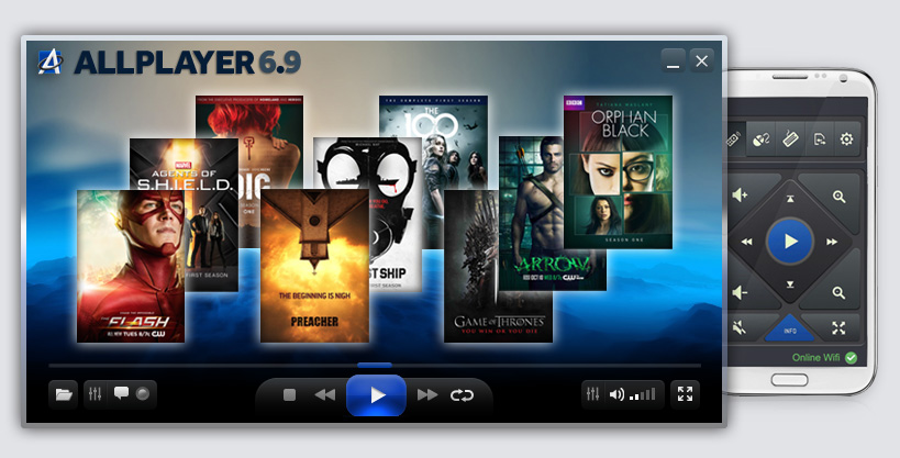 NEW ALLPlayer 6.9 - free video player