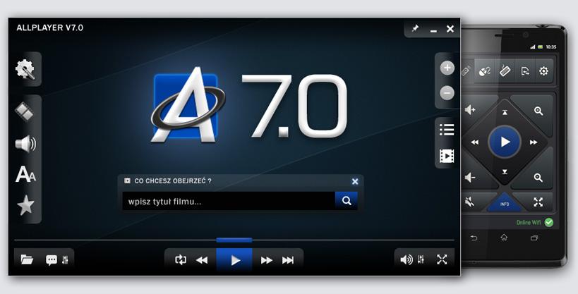 ALLPlayer - odtwarzacz filmów