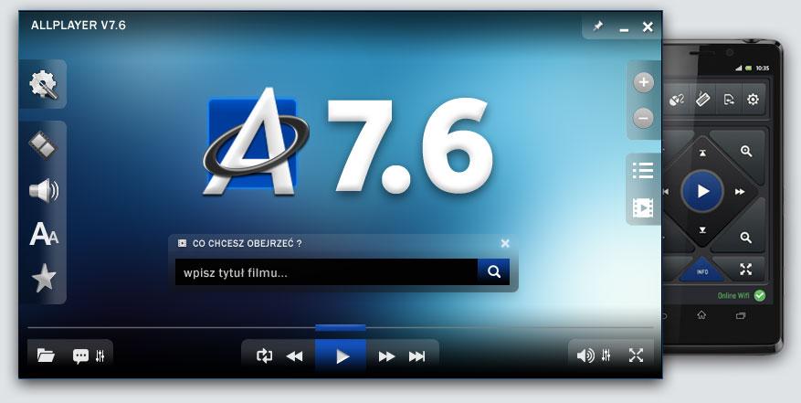 odtwarzacz ALLPlayer 7.4