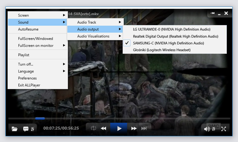 ALLPlayer_ wyjście_audio_video_player_allplayer.org