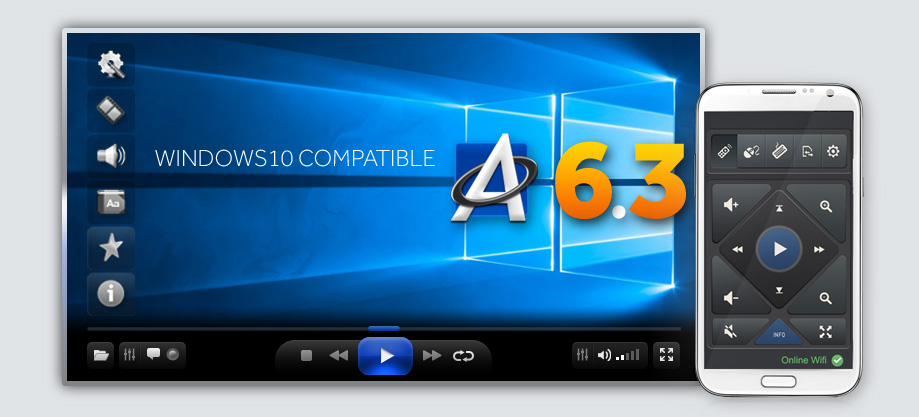 ALLPlayer - free video player wndows 10 compatible