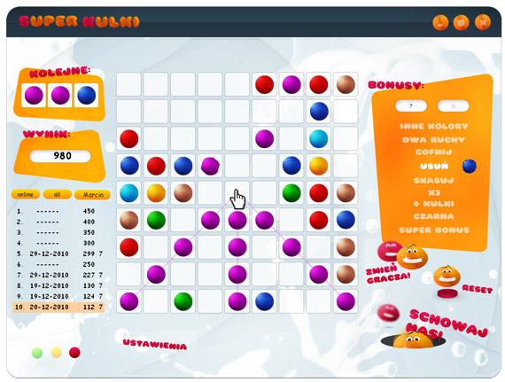 Click to view Super Balls 5.0 screenshot