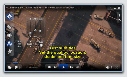 ALLPlayer - subtitles settings_video_player_allplayer.org